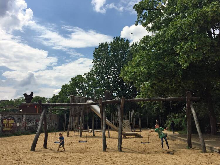 Die 14 Schönsten Spielplätze In Berlin