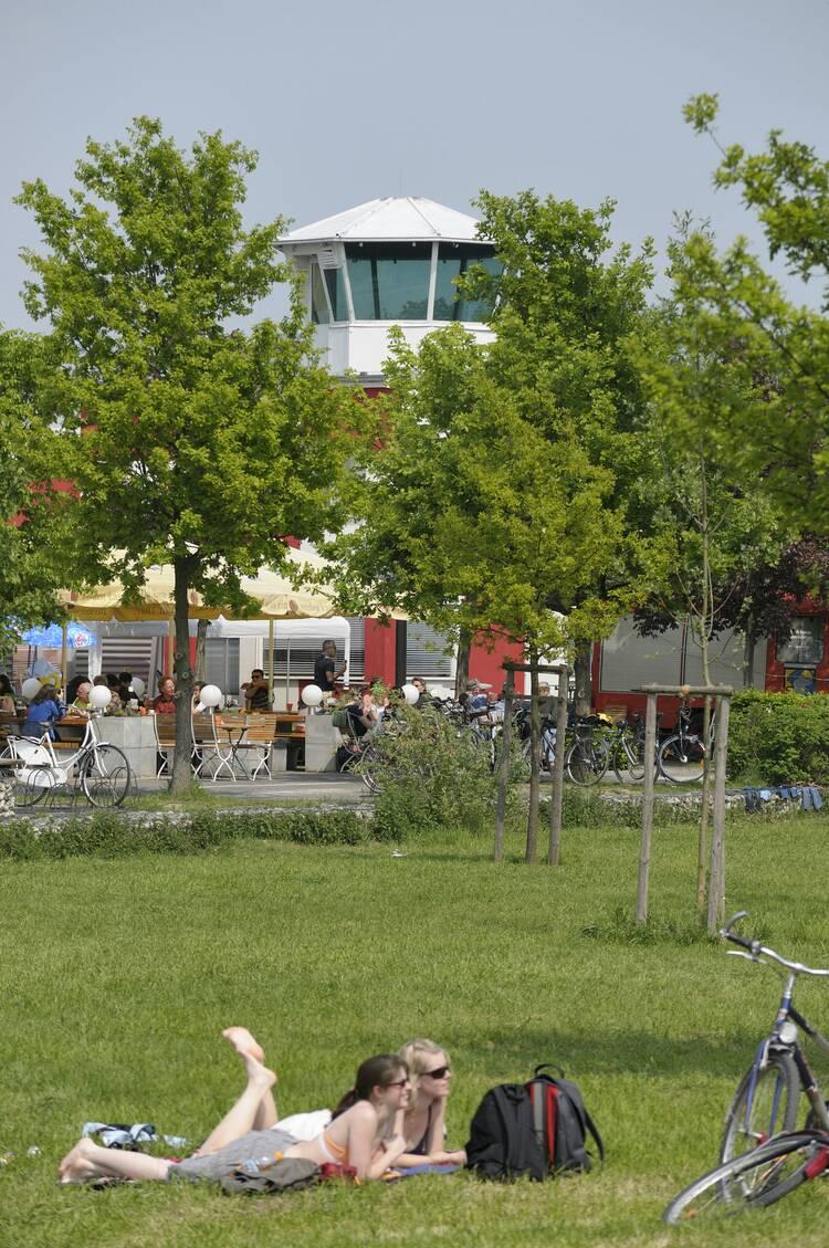Flugplatz Frankfurt